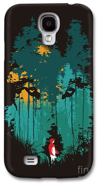 Horror Galaxy S4 Cases - The woods belong to me Galaxy S4 Case by Budi Kwan