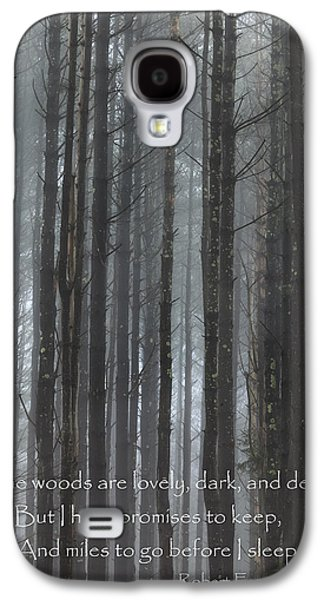 Woodlands Scene Galaxy S4 Cases - The Woods Galaxy S4 Case by Bill  Wakeley