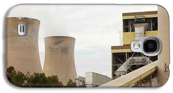 The Yan Lang Coal Fired Power Station Galaxy S4 Case by Ashley Cooper
