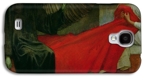 The Young Girl And Death Galaxy S4 Case by Marianne Stokes