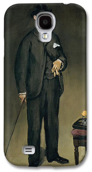 Gloves Galaxy S4 Cases - Theodore Duret 1838-1927 Oil On Canvas Galaxy S4 Case by Edouard Manet