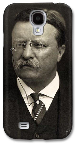 Historical Figures Galaxy S4 Cases - Theodore Roosevelt Galaxy S4 Case by Unknown