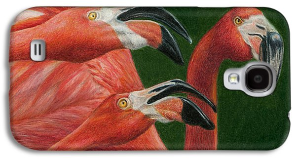 Colored Pencil Paintings Galaxy S4 Cases - There are always Critics Galaxy S4 Case by Pat Erickson
