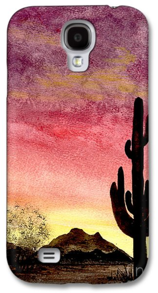 Sonora Paintings Galaxy S4 Cases - There Is A God Galaxy S4 Case by Flamingo Graphix John Ellis