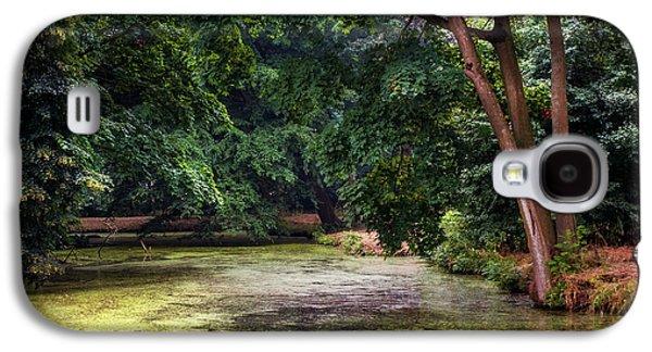 Garden Scene Galaxy S4 Cases - There is Always a Hope. Park of De Haar Castle Galaxy S4 Case by Jenny Rainbow