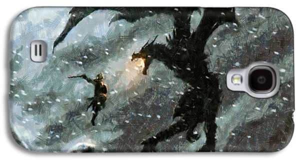 Epic Galaxy S4 Cases - There is no Fear Galaxy S4 Case by Joe Misrasi