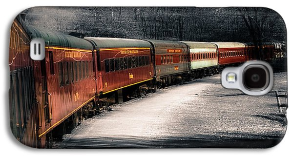 Old Western Photos Galaxy S4 Cases - Theres a train a comin somewhere around the bend Galaxy S4 Case by Steven  Digman
