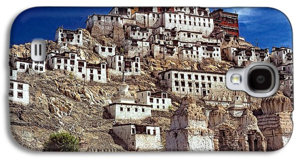 Architecture Metal Prints Galaxy S4 Cases - Thiksey Monastery Galaxy S4 Case by Steve Harrington