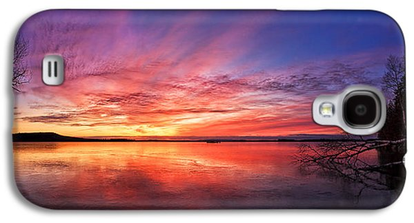 Photographic Art Galaxy S4 Cases - Thin Ice 1 Panorama Galaxy S4 Case by Bill Caldwell -        ABeautifulSky Photography