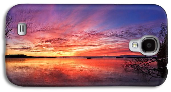 Bill Caldwell Galaxy S4 Cases - Thin Ice 1 Panorama Galaxy S4 Case by Bill Caldwell -        ABeautifulSky Photography