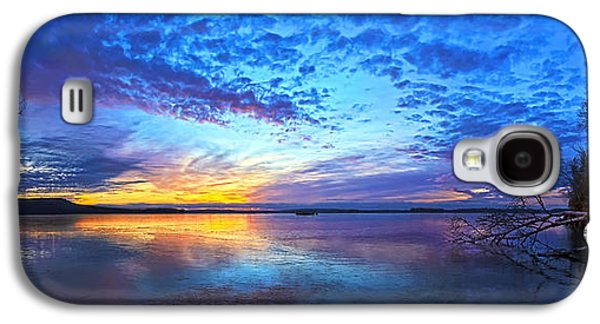 Photographic Art Galaxy S4 Cases - Thin Ice 2 Panorama Galaxy S4 Case by Bill Caldwell -        ABeautifulSky Photography