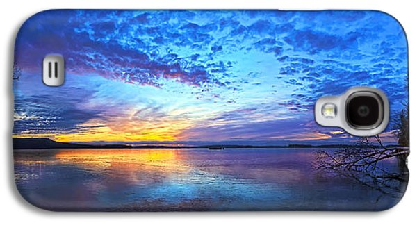 Bill Caldwell Galaxy S4 Cases - Thin Ice 2 Panorama Galaxy S4 Case by Bill Caldwell -        ABeautifulSky Photography