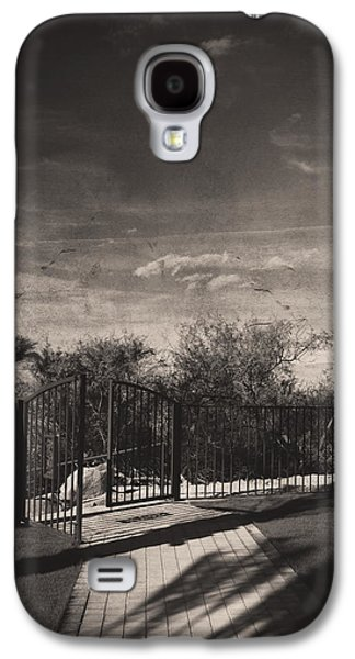 Walkway Digital Art Galaxy S4 Cases - Things We May Never Know Galaxy S4 Case by Laurie Search