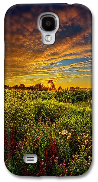 Farming Galaxy S4 Cases - Think I Will Sit a Spell Galaxy S4 Case by Phil Koch