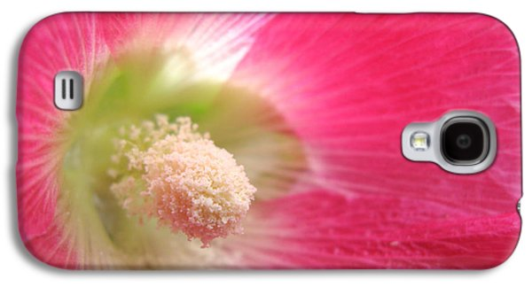 Healing Posters Galaxy S4 Cases - Think Pink Galaxy S4 Case by Indira Emmerlich