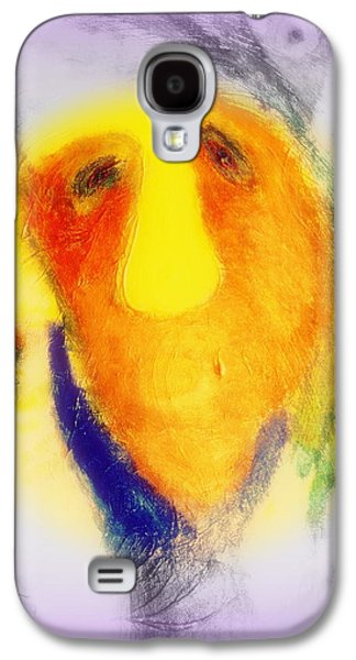 Mental Paintings Galaxy S4 Cases - Thinking hard Galaxy S4 Case by Hilde Widerberg