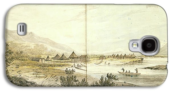 Third Voyage Of Captain Cook 1777-1779 Galaxy S4 Case by British Library