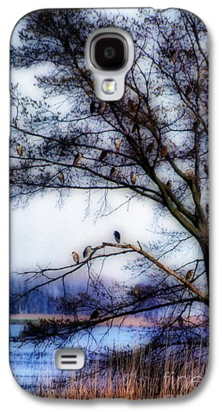 Photos Of Birds Galaxy S4 Cases - Thirty Four Night Herons Galaxy S4 Case by Skip Willits