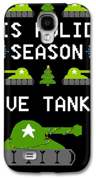 Humbug Galaxy S4 Cases - This Holiday Season Give Tanks Galaxy S4 Case by Jera Sky