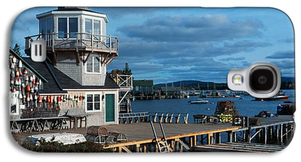 New England Village Galaxy S4 Cases - This Is A Lobster Village In New Galaxy S4 Case by Panoramic Images