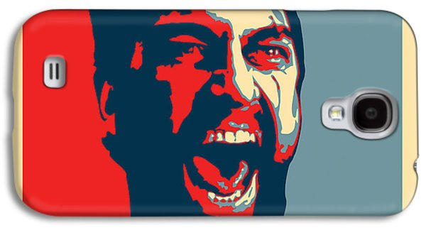Obama Galaxy S4 Cases - This Is Sparta Galaxy S4 Case by Allan Swart