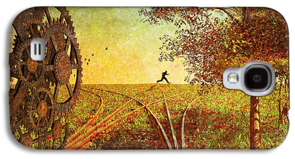 Dreamscape Digital Art Galaxy S4 Cases - This is the best part of the trip Galaxy S4 Case by Bob Orsillo