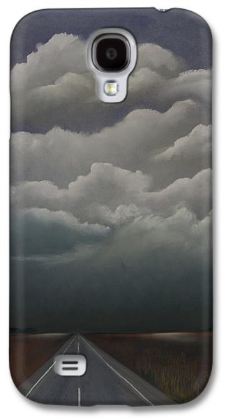Storm Pastels Galaxy S4 Cases - This Menacing Sky Galaxy S4 Case by Cynthia Lassiter