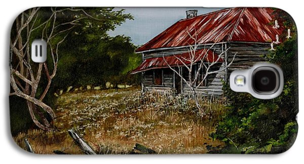 Machinery Galaxy S4 Cases - This Old House Galaxy S4 Case by Val Stokes