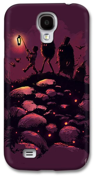 Surreal Landscape Galaxy S4 Cases - This Way Guys Galaxy S4 Case by Budi Satria Kwan