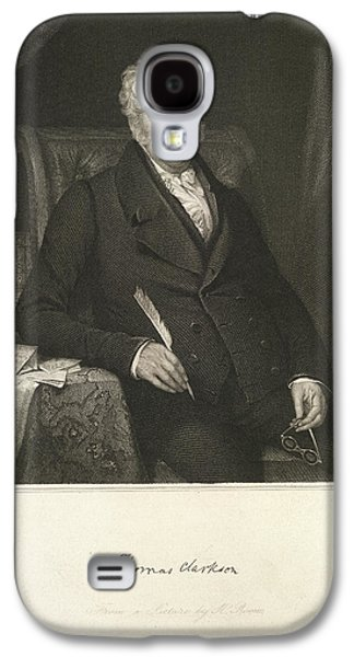 Thomas Clarkson Galaxy S4 Case by British Library