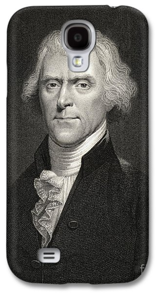 Reformer Galaxy S4 Cases - Thomas Jefferson Galaxy S4 Case by English School
