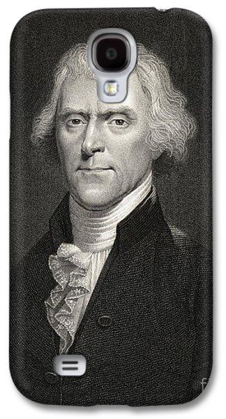 Thomas Jefferson Galaxy S4 Cases - Thomas Jefferson Galaxy S4 Case by English School