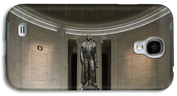 Landmark Photographs Galaxy S4 Cases - Thomas Jefferson Memorial at Night Galaxy S4 Case by Sebastian Musial