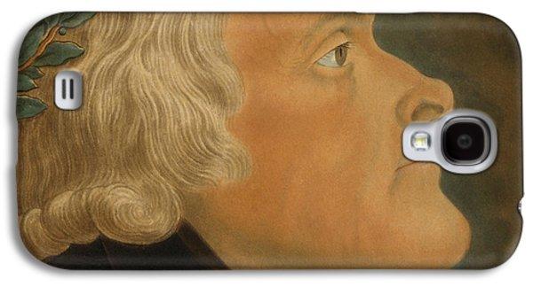 Thomas Jefferson Galaxy S4 Cases - Thomas Jefferson Galaxy S4 Case by Michael Sokolnicki