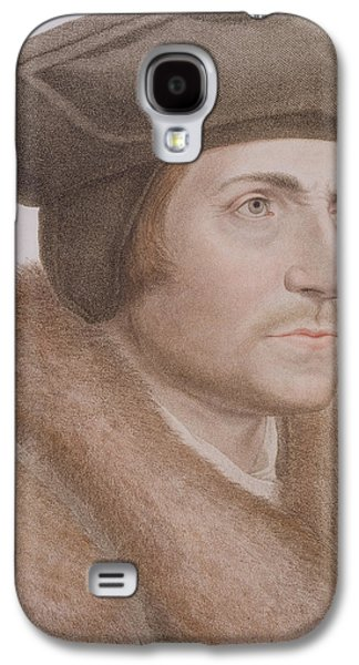 Reformer Galaxy S4 Cases - Thomas More Galaxy S4 Case by Hans Holbein the Younger