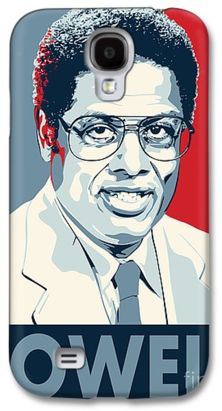 Libertarian Party Galaxy S4 Cases - Thomas Sowell Galaxy S4 Case by John Lehman