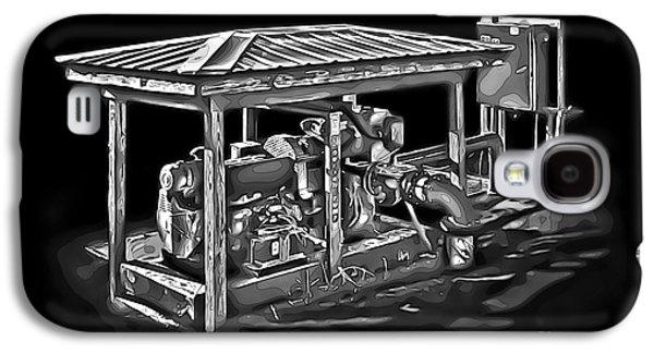 Machinery Galaxy S4 Cases - Thompson Pump 2 Galaxy S4 Case by Walt Foegelle