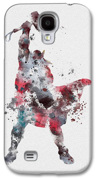 Hammer Galaxy S4 Cases - Thor Galaxy S4 Case by Rebecca Jenkins