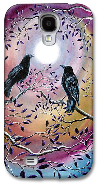 Caws Paintings Galaxy S4 Cases - Thought and Memory Galaxy S4 Case by Laura Iverson