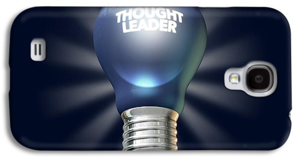 Thought Galaxy S4 Cases - Thought Leader Galaxy S4 Case by Allan Swart