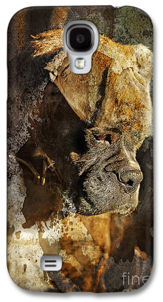 Boxer Digital Galaxy S4 Cases - Thought Process Galaxy S4 Case by Judy Wood