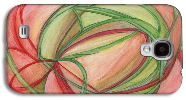 Thought Drawings Galaxy S4 Cases - Thoughts Create Galaxy S4 Case by Kelly K H B