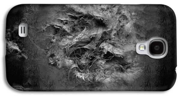Creepy Digital Art Galaxy S4 Cases - thoughts of Suicide Galaxy S4 Case by David Fox