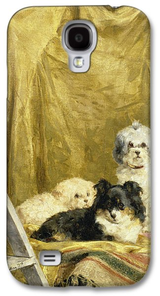 Three Dogs Galaxy S4 Case by Charles van den Eycken