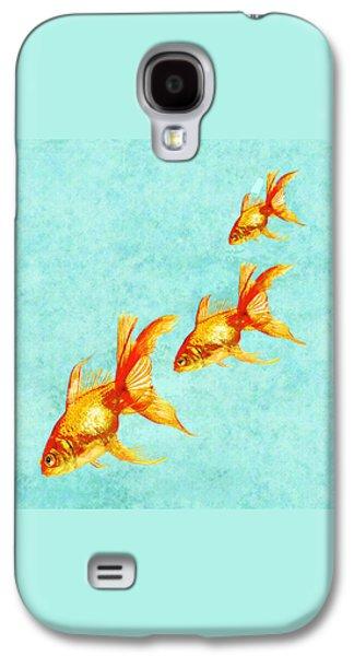 Three Little Fishes Galaxy S4 Case by Jane Schnetlage