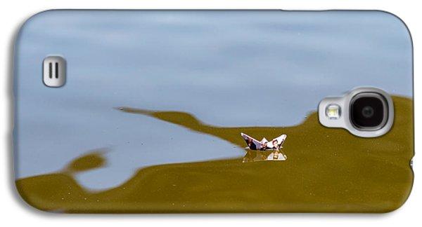 Three Men In A Boat - Featured 3 Galaxy S4 Case by Alexander Senin