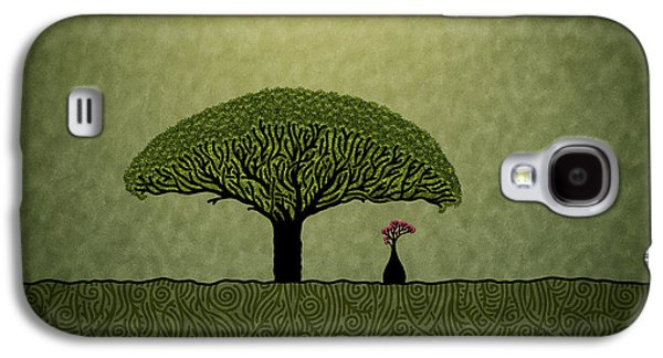Animation Photographs Galaxy S4 Cases - Three of Green Galaxy S4 Case by Gianfranco Weiss