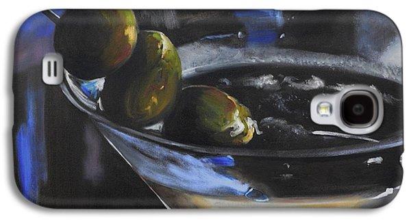 Three Olive Martini Galaxy S4 Case by Donna Tuten