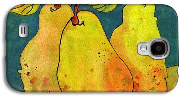 Pears Galaxy S4 Cases - Three Pears Art  Galaxy S4 Case by Blenda Studio