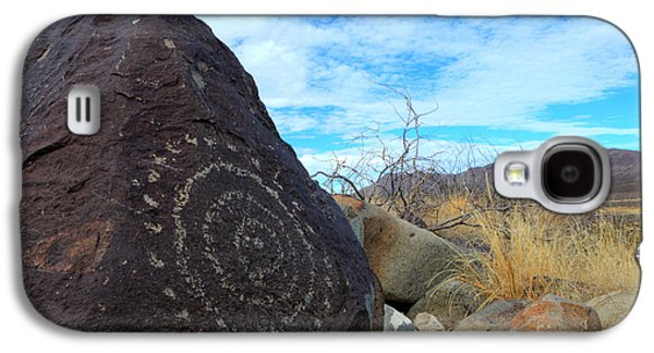 Ancient Galaxy S4 Cases - Three Rivers Petroglyphs 5 Galaxy S4 Case by Bob Christopher